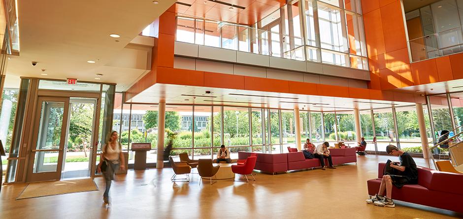 Adelphi's Nexus Building Lobby