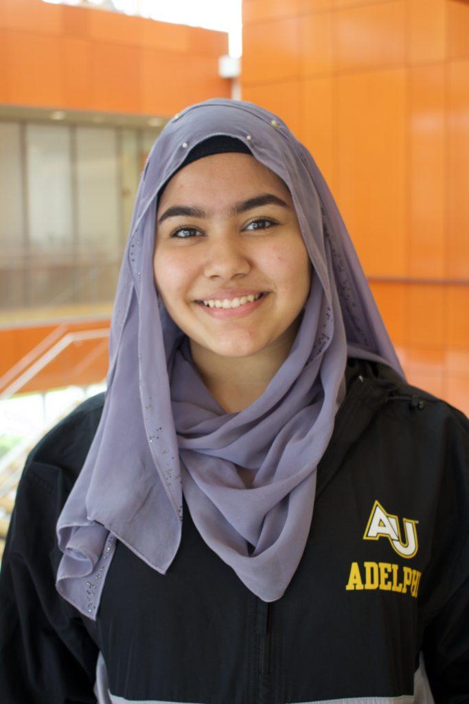 Ameena Hamaraz, Adelphi Admissions Ambassadors, Adelphi University
