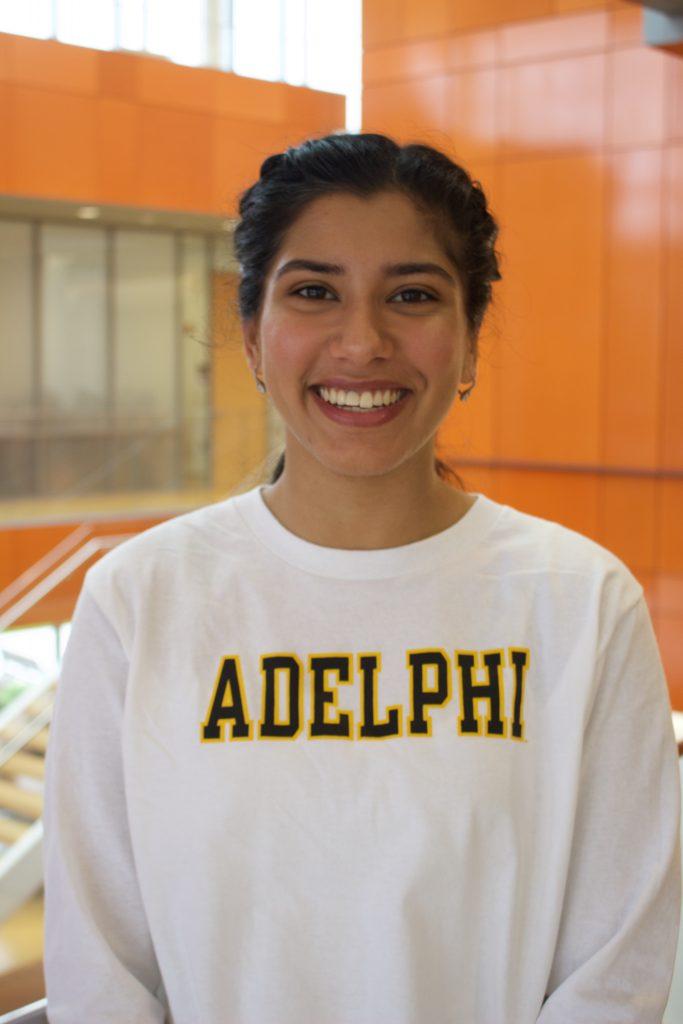 Alyssa ChamberlainAzka Chaudhry, Adelphi Admissions Ambassadors, Adelphi University