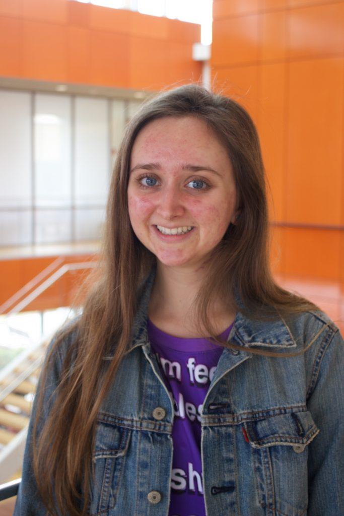 Emily Lawrence, Adelphi Admissions Ambassadors, Adelphi University