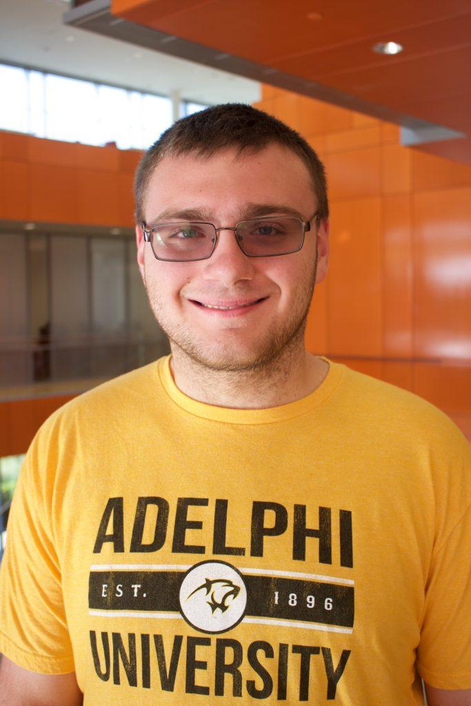 Fred Grimshaw, Adelphi Admissions Ambassadors, Adelphi University