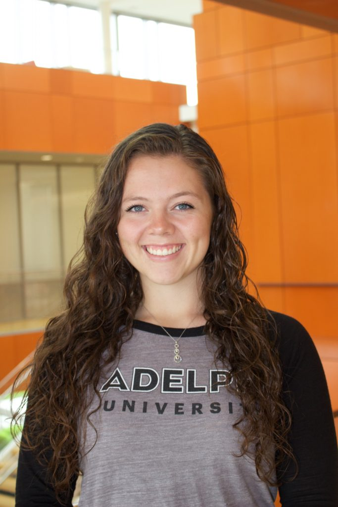 Marissa Flaherty, Adelphi Admissions Ambassadors, Adelphi University