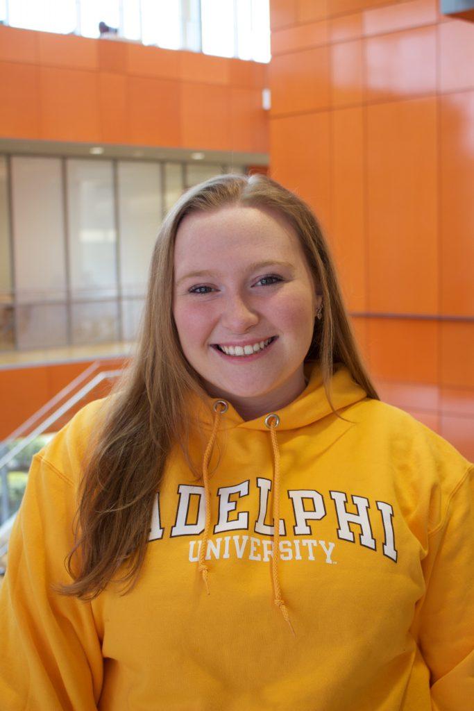 Sarah Carbain, Adelphi Admissions Ambassadors, Adelphi University