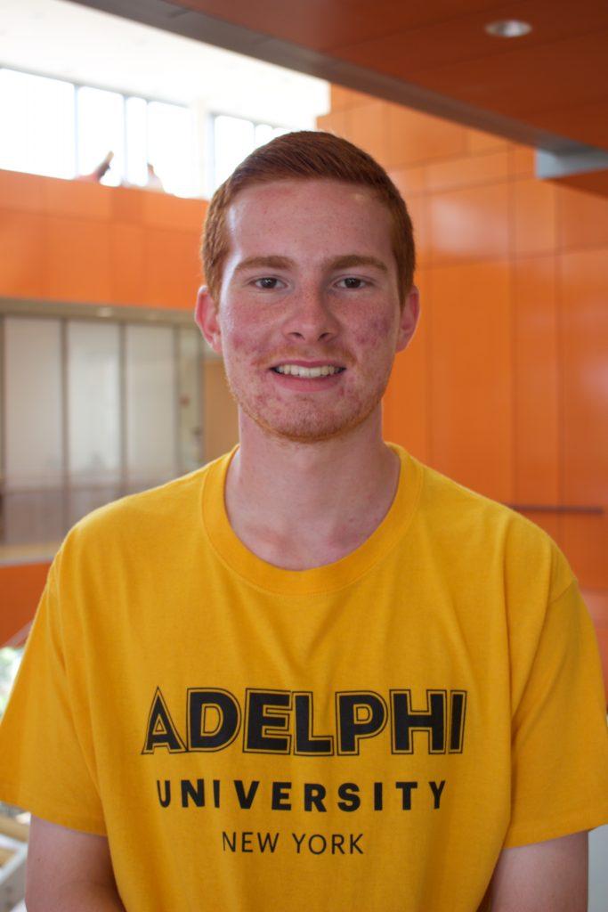 Sean Dugan, Adelphi Admissions Ambassadors, Adelphi University