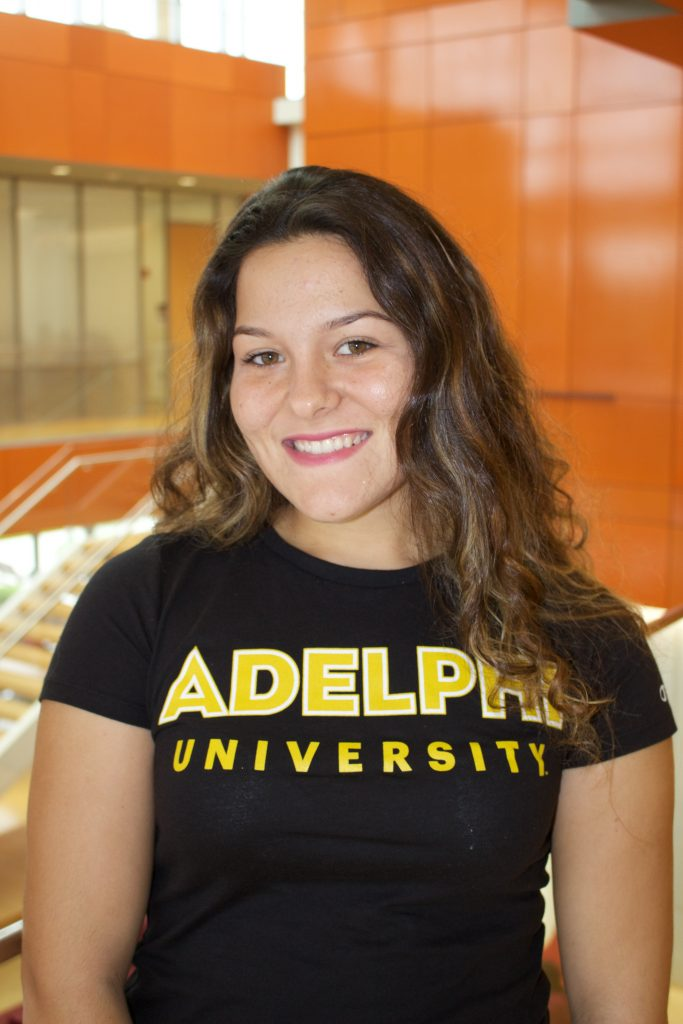 Tiffany Christie, Adelphi Admissions Ambassadors, Adelphi University